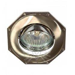 Врезной светильник DL83 титан - хром mr16 /305