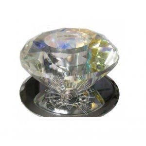 Точечный светильник ST122 хром (multi color crystal) G4
