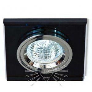 Точечный светильник ST126 чёрный-хром G5.3