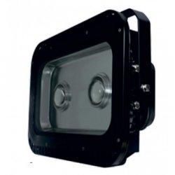 Прожектор led LMP6-101 100w 6500k ip65 2led чёрный с линзами