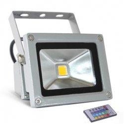 Прожектор led LMP10-RGB 10w RGB+пульт 6500k ip65 1led
