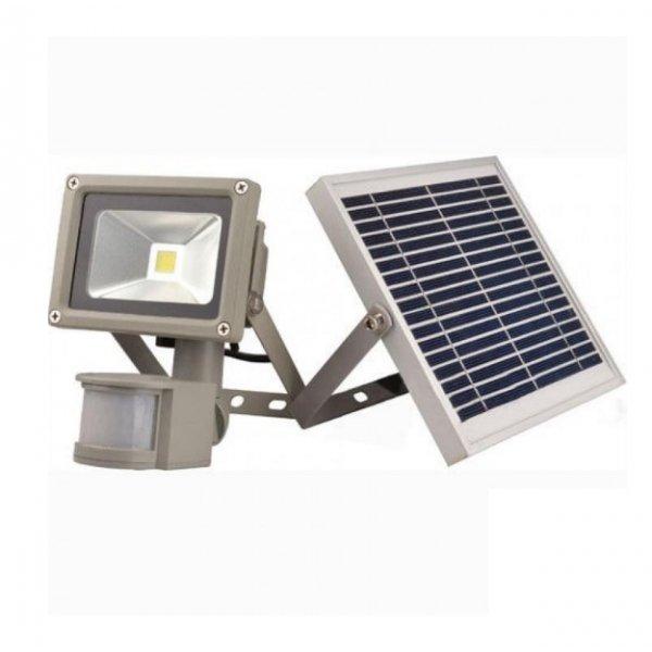 Прожектор светодиодный LMP9-10 cолнечная батарея + акку 10w д/движ. COB ip65 800LM