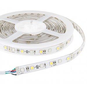 Светодиодная лента LM587 ip20 5m 60SMD 2835 12v белый 5w/м 6LM/led (цена за 1м)
