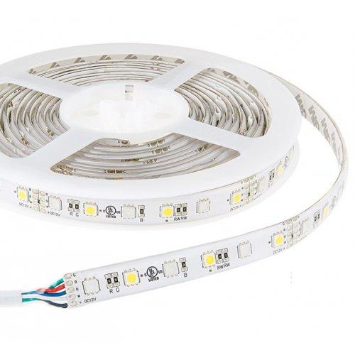 Светодиодная лента LM582 ip65 5m 60SMD 2835 12v белый 5w/м 6LM/led (цена за 1м)