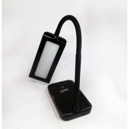 Настольная лампа LMN087 6w 300lm 6000k чёрная
