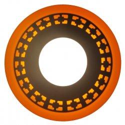 Точечный светильник LM541 Кубики 6+3w с жёлтой подсветкой 540lm 4500k 175-265v круг