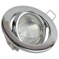 Врезной светильник LMS002 хром MR-16 50w