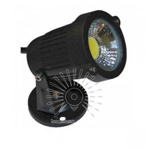 Светильник led LM980 садовый 1led 3w 6500k чёрный