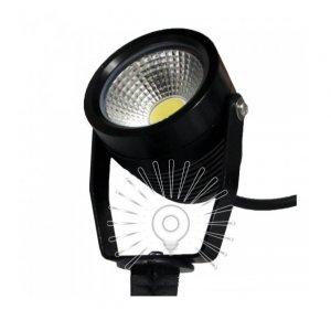 Светильник led LM982 садовый 1led 9w 6500k чёрный