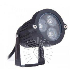 Светильник led LM978 садовый 3led 3w 6500k чёрный