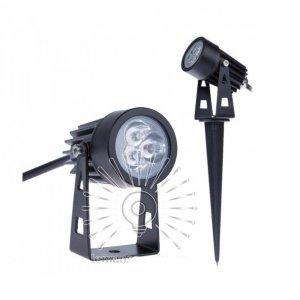 Светильник led LM23 садовый 3w 270lm 85-265v 6500k ip65