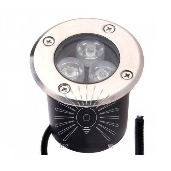 Светильник led LM986 грунтовый 3led 3w 150lm 6500K