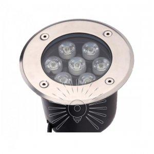 Светильник led LM988 грунтовый 7led 7w 350lm 6500K